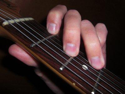 D Minor Open Chord