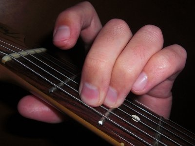 E Minor Open Chord