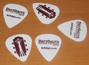 Deft Digits Guitar Picks