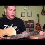 4 Fingerings for the Open A Chord