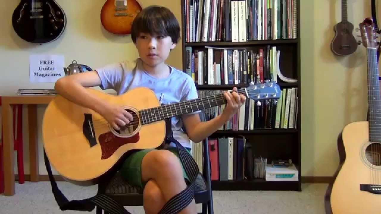 Student Of The Month Lucca Deft Digits Guitar Lessons